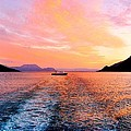 Fiord Sunset  by Adie F