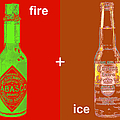 Fire And Ice 20130405 by Wingsdomain Art and Photography