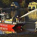 Fire Boat by Susan Leggett
