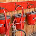 Fire Buckets by Mair Hunt