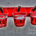 Fire Buckets by Nina Ficur Feenan