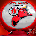 Fire Chief Gasoline Globe by Thomas Woolworth