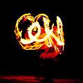Fire Dancer 4 by Jim Thompson