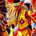 Fire Dancer by Wayne Wood