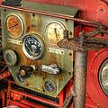Fire Department Tanker Controls by Geoffrey Coelho