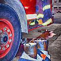Fire Engine - Firemen - Equipment by Nikolyn McDonald