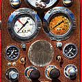 Fire Engine Gauges by Phyllis Denton
