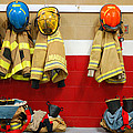 Fire Equipment At Rest by James Kirkikis