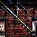 Fire Escape And Windows by Bob Orsillo