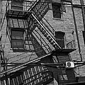 Fire Escape by Cathy Anderson