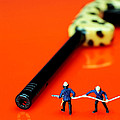 Fire Fighters And Fire Gun Little People Big Worlds by Paul Ge