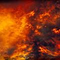Fire In The Skies by Paul W Sharpe Aka Wizard of Wonders
