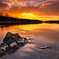 Fire On The Sky by Davorin Mance