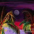 Fire Palms II by Dr B Lynn Tillman
