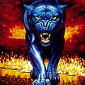 Fire Panther by MGL Studio - Chris Hiett