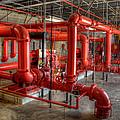 Fire Pump Room 2 by David Hart