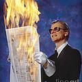 Fire Reader by Martin Konopacki