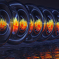 Fire Rings by Alan M Thwaites