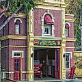 Fire Station Main Street Disneyland 01 by Thomas Woolworth