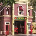 Fire Station Main Street Disneyland 02 by Thomas Woolworth