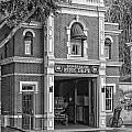 Fire Station Main Street Disneyland Bw by Thomas Woolworth