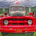 Fire Truck by David B Kawchak Custom Classic Photography