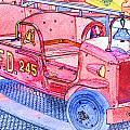 Fire Truck by Michael Porchik