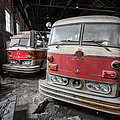 Fire Trucks Abandoned And Dirty by Andrew Dierks