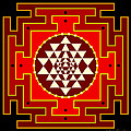 Fire Yantra by Clare Goodwin