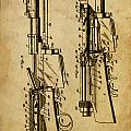 Firearm - Patented On 1907 by Drawspots Illustrations