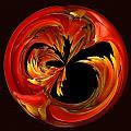 Fireball Orb by Bill Barber