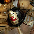 Firefighter - Somewhere To Hang Hat  by Mike Savad