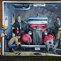 Firehall Mural Sultan Washington 1 by Bob Christopher