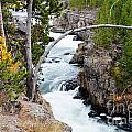 Firehole Falls by Deanna Cagle