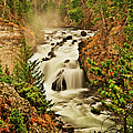 Firehole Falls by Greg Norrell