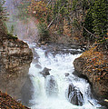 Firehole River Falls by Clare VanderVeen