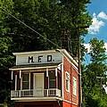 Firehouse Meshoppen Pennsylvania by Elsa Marie Santoro