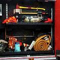 Fireman - Fire Fighting Supplies by Susan Savad