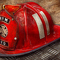 Fireman - Hat - A Childhood Dream by Mike Savad