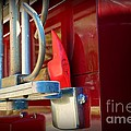 Fireman Hook And Ladder by Paul Ward