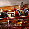 Fireman - Ladder Company 1 by Mike Savad
