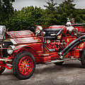Fireman - Phoenix No2 Stroudsburg Pa 1923  by Mike Savad