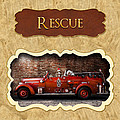 Fireman - Rescue - Police by Mike Savad