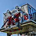 Fireman - The Fireman's Ladder by Paul Ward