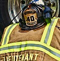 Fireman Turnout Gear Lieutenant by Paul Ward