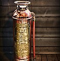 Fireman - Vintage Fire Extinguisher by Paul Ward