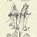 Fireman's Suits 1876 Patent Art by Prior Art Design