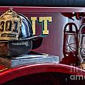 Firemen - Fire Helmet Lieutenant by Paul Ward