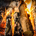 Fireplace II by Marco Oliveira