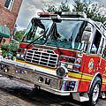 Firetruck by David Hart
